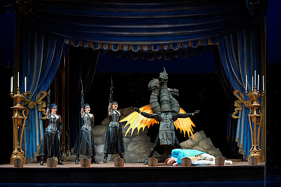Whimsical, Magical, Campy: Images and Costume Drawings For The Magic Flute at the COC