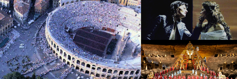 Arena di Verona Collage