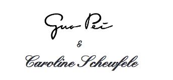 Guo Pei & Caroline Scheufele