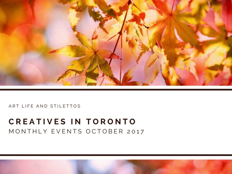 Creatives in Toronto: October Events