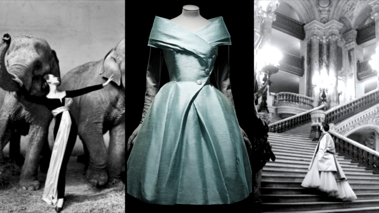 Christian Dior Vintage Couture at the ROM