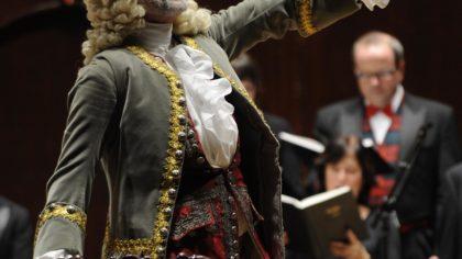 Ivars Taurins as Herr Handel Photographer: Gary Beechey