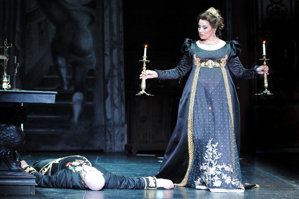Micaela Carosi as Floria Tosca. Teatro Regio di Parma.