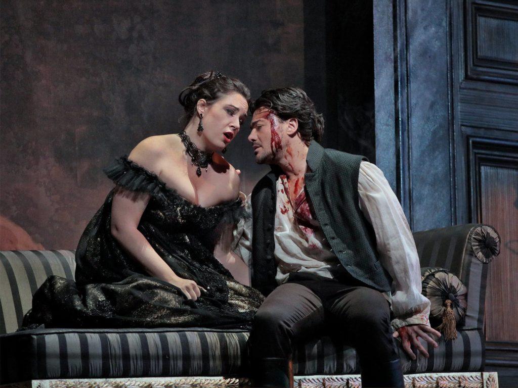 Sonya Yoncheva as Floria Tosca. The Metropolitan Opera. Photo Ken Howard/Metropolitan Opera. https://www.metopera.org/season/2017-18-season/tosca-puccini-tickets/