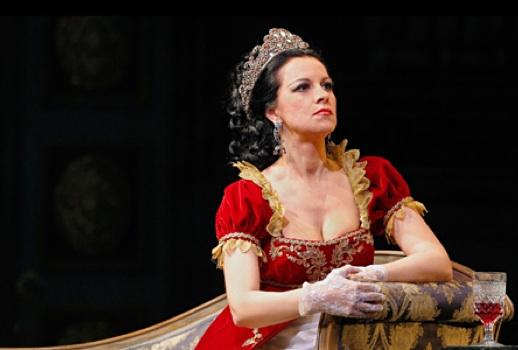 Angela Gheorghiu as Floria Tosca San Francisco Opera. Photograph by Cory Weaver http://sfopera.com/Season-Tickets/2012-2013-Season/Tosca.aspx